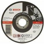 BOSCH 2608600093-Doorslijpschijf recht Inox AS 46 T INOX BF, 115 mm, 22,23 mm, 2 mm-klium