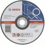 BOSCH 2608600546-Doorslijpschijf recht-gegoten AS 24 R, 230 mm, 22,23 mm, 3 mm-klium