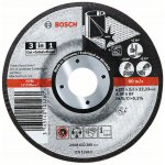 BOSCH 2608602388-Doorslijpschijf 3-in-1 A 46 S BF, 115 mm, 22,23 mm,  2,5 mm-klium
