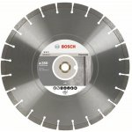 BOSCH 2608602560-Diamantdoorslijpschijf Expert for Concrete 300 x 20,00+25,40 x 2,8 x 12 mm-klium