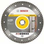 BOSCH 2608602578-Diamantdoorslijpschijf Expert for Universal Turbo 230 x 22,23 x 2,8 x 12 mm-klium