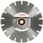 BOSCH 2608602621-Diamantdoorslijpschijf Professional for Abrasive 350 x 20,00+25,40 x 2,8 x 10 mm-klium