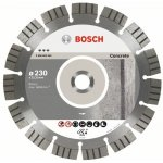 BOSCH 2608602655-Diamantdoorslijpschijf Best for Concrete 230 x 22,23 x 2,4 x 15 mm-klium