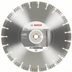 BOSCH 2608602658-Diamantdoorslijpschijf Best for Concrete 350 x 20,00+25,40 x 3,2 x 15 mm-klium