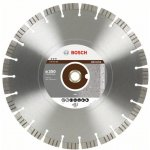 BOSCH 2608602685-Diamantdoorslijpschijf Best for Abrasive 300 x 20,00+25,40 x 2,8 x 15 mm-klium