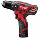 MILWAUKEE 4933441940-MILWAUKEE M12 BPD-202C M12 SUBCOMPACTSLAGBOORMACHINE-klium