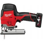 MILWAUKEE 4933441700-MILWAUKEE M12JS-402B M12 SUBCOMPACTDECOUPEERZAAGMACHINE-klium