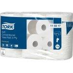 TORK 110317-TORK ZACHT TRADITIONEEL TOILETPAPIER 3-LAAGS WIT 248 VEL T4 PREMIUM-klium