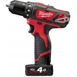MILWAUKEE 4933441925-MILWAUKEE M12 BDD-402C SUBCOMPACTBOORSCHROEFMACHINE-klium