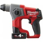 MILWAUKEE 4933441475-MILWAUKEE M12 CH-402C LI-ION ACCU-SDS-PLUS BOORHAMER-klium