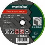 METABO 616143000-METABO FLEXIAMANT SUPER 180X3,0X22,23 STEEN, DOORSLIJPSCHIJF, RECHTE UITVOERING-klium