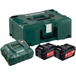 METABO 685065000-METABO BASIS-SET 2 X 5.2 AH + METALOC-klium