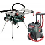 METABO 690889000-METABO TS 254 + ASR 35 M ACP SET MACHINES OP NETVOEDING IN DE SET-klium