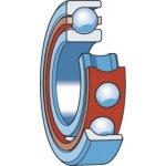 SKF QJ 306 LA/P63-VIERPUNTSLAGER QJ 306 LA/P63-klium