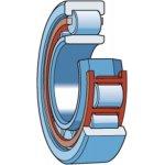 SKF NU 207 ECJ/C3-CILINDERLAGER NU 207 ECJ/C3-klium
