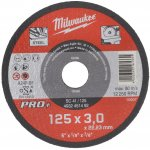 MILWAUKEE 4932451492-Milwaukee metaaldoorslijpschijf sc41 125 x 3 mm pro+ (50 st.)-klium