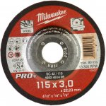 MILWAUKEE 4932451495-Milwaukee metaaldoorslijpschijf sc42 115 x 3 pro+ (50 st.)-klium