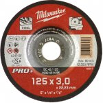 MILWAUKEE 4932451496-Milwaukee metaaldoorslijpschijf sc42 125 x 3 pro+ (50 st.)-klium