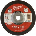 MILWAUKEE 4932451497-Milwaukee metaaldoorslijpschijf sc42 180 x 3 pro+ (50 st.)-klium