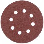 MILWAUKEE 4932367741-Milwaukee schuurpapier, klittenbandsluiting 125 mm, k 60, 8 gaten (5 st.)-klium