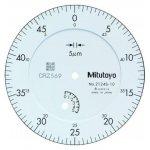 MITUTOYO 2124SB-10-Metrische meetklok - serie 2--klium