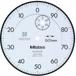 MITUTOYO 2952S-Metrische meetklok met lange slag 30 mm - serie 2--klium