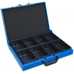 SORTIMO 1000011066-SORTIMO KM321 metalen koffer (incl. 8 inzetbakjes)-klium