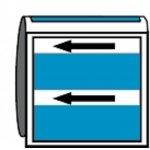BRADY 268001-Leidingmerker met drager - Lucht-klium