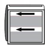 BRADY 269646-Leidingmerker met drager - Stoom-klium