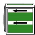 BRADY 268400-Leidingmerker met drager - Water-klium