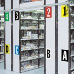 BRADY 911495-Cijfers & letters DIN A4-formaat voor permanente of tijdelijke identificatie-klium