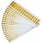 BRADY 097599-Cijfers of letters in combinatieverpakking-klium