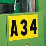 BRADY 912305-Identieke cijfer- of letterkaarten-klium