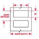BRADY 067114-Thermische transfert Labels-klium
