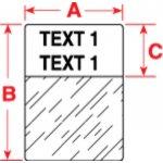 BRADY 033881-Labels voor TLS 2200/TLS PC Link-klium