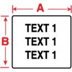 BRADY 018507-Labels voor TLS 2200/TLS PC Link-klium