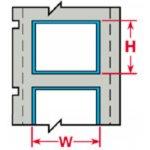 BRADY 032204-PermaSleeve krimpkousen voor de LS2000 printer-klium