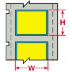 BRADY 032214-PermaSleeve krimpkousen voor de LS2000 printer-klium
