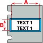BRADY 018481-PermaSleeve krimpkousen voor de TLS 2200 & TLS PC Link-klium