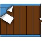 BRADY 012359-Draadmerkerkaar NEMA-kleur - Bruin-klium