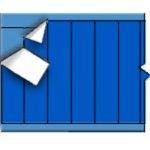 BRADY 054253-Draadmerkerkaar NEMA-kleur - Donkerblauw-klium
