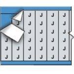 BRADY 023109-Draadmerkerletters op kaart-klium