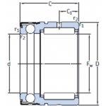SKF NX 20-NAALDTAATSLAGER-klium