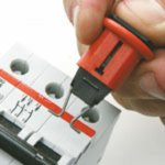 BRADY 090844-Miniatuurblokkeersyteem voor onderbrekers - Pin-Out Standard-klium
