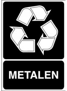 BRADY 251295-RECYCLAGEPICTOGRAM - METALEN (STN 119)-klium