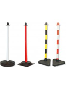 BRADY 256723-POST & RUBBER BASE (4 PCS.)-klium