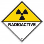 BRADY 223570-Vervoerspictogram - Radioactief 7DA (ADR 7DA)-klium