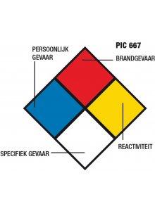 BRADY 223906-GEVARENDIAMANT PIC 667 (PIC 667)-klium
