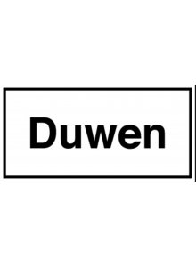 BRADY 251601-INFORMATIETEKENS - DUWEN (STN 781)-klium