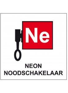 BRADY 803531-INFORMATIETEKENS - LOCATIEAANDUIDING NEON NOODSCHAKELAAR (STN 1013)-klium